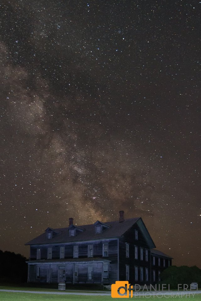 Milky Way over Ghost Town Hotel